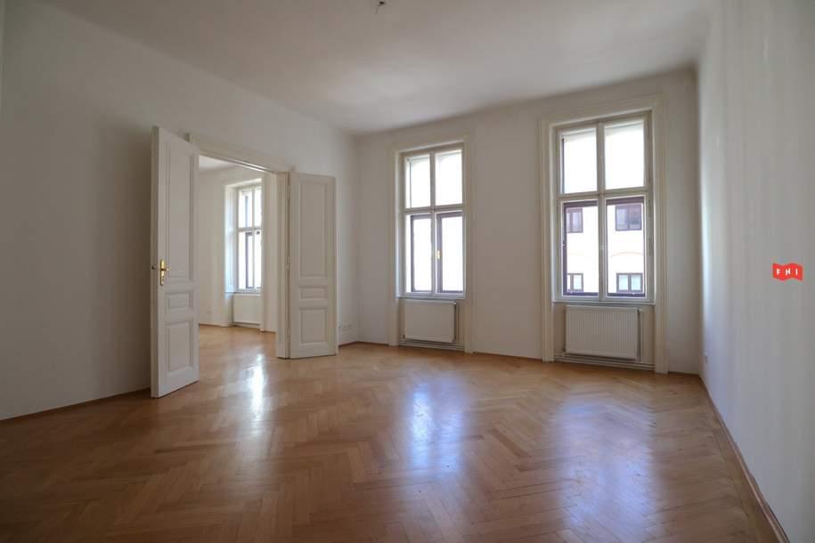 Großzügige 2-Zimmer Wohnung in hervorragender Lage wird unbefristet vermietet, Wohnung-miete, 960,40,€, 1040 Wien 4., Wieden