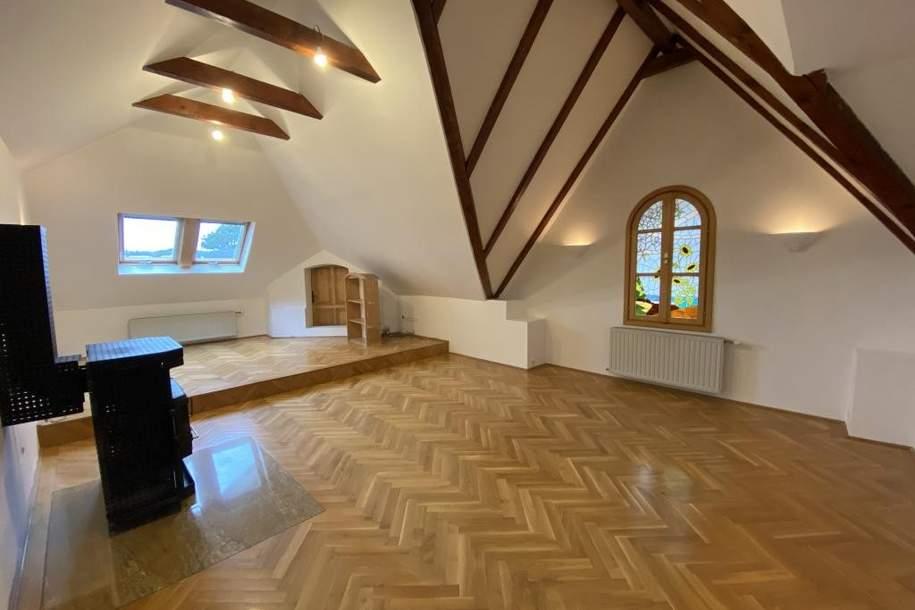Villenetage mit Rohdachboden, Wohnung-kauf, 892.000,€, 1140 Wien 14., Penzing