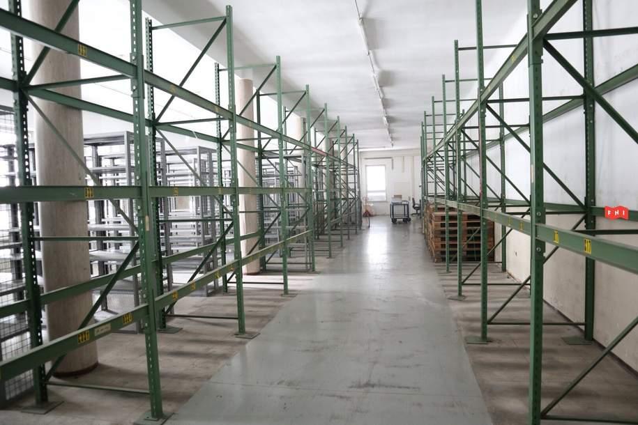 Lagerfläche | Trocken | Raumhöhe 4m, Gewerbeobjekt-miete, 8,50,€, 1200 Wien 20., Brigittenau