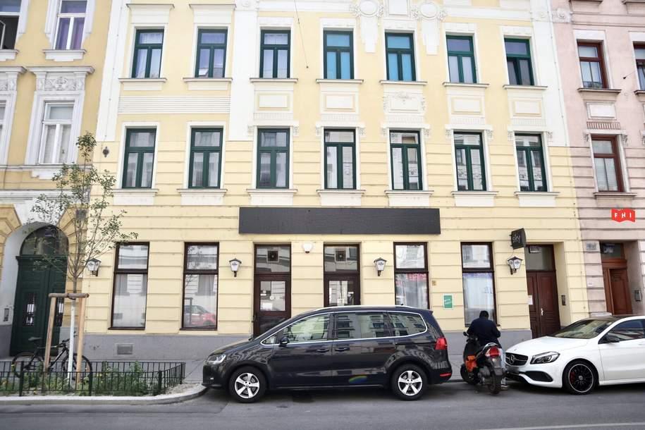 Ablösefreies Café/Lokal in guter Lage, Gewerbeobjekt-miete, 9,98,€, 1150 Wien 15., Rudolfsheim-Fünfhaus
